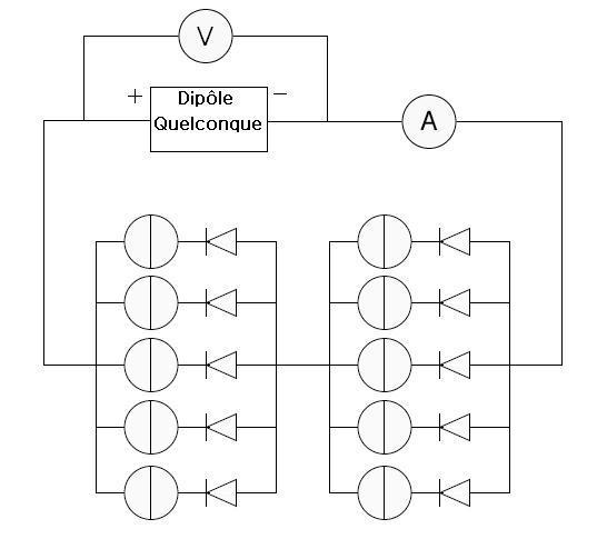 Schema electrique panneau photovoltaique